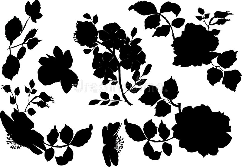 Download Brier Silhouettes Royalty Free Stock Image - Image: 3362476