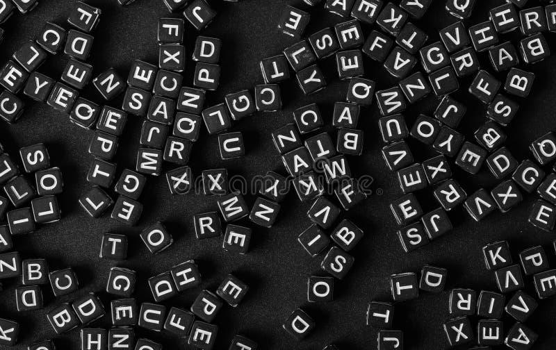 Brieven van het alfabet royalty-vrije stock afbeelding