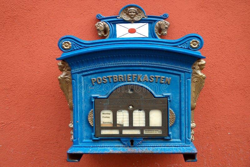Download Brievenbus 1896 stock afbeelding. Afbeelding bestaande uit brievenbus - 27895