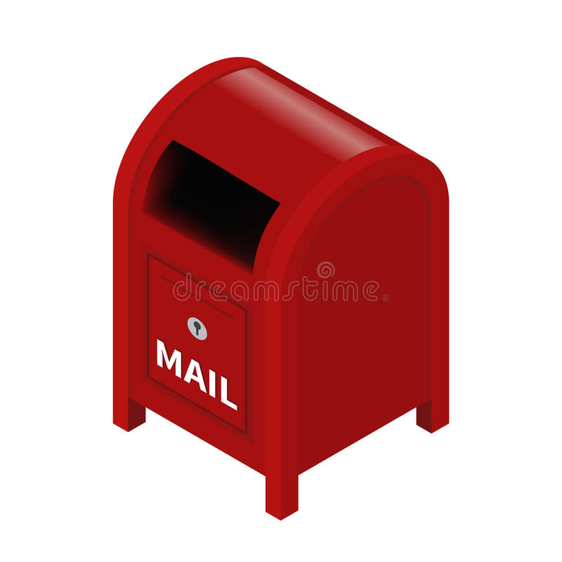 brievenbus royalty-vrije illustratie