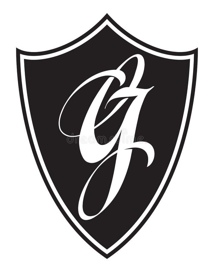 Brieveng embleem Logotype, etiket, embleem stock illustratie