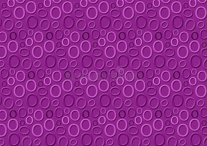Brieveno patroon in verschillende gekleurde purpere schaduwen voor behang vector illustratie