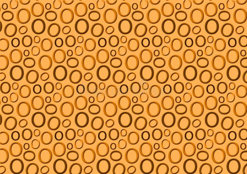 Brieveno patroon in verschillende gekleurde schaduwen voor behang royalty-vrije illustratie