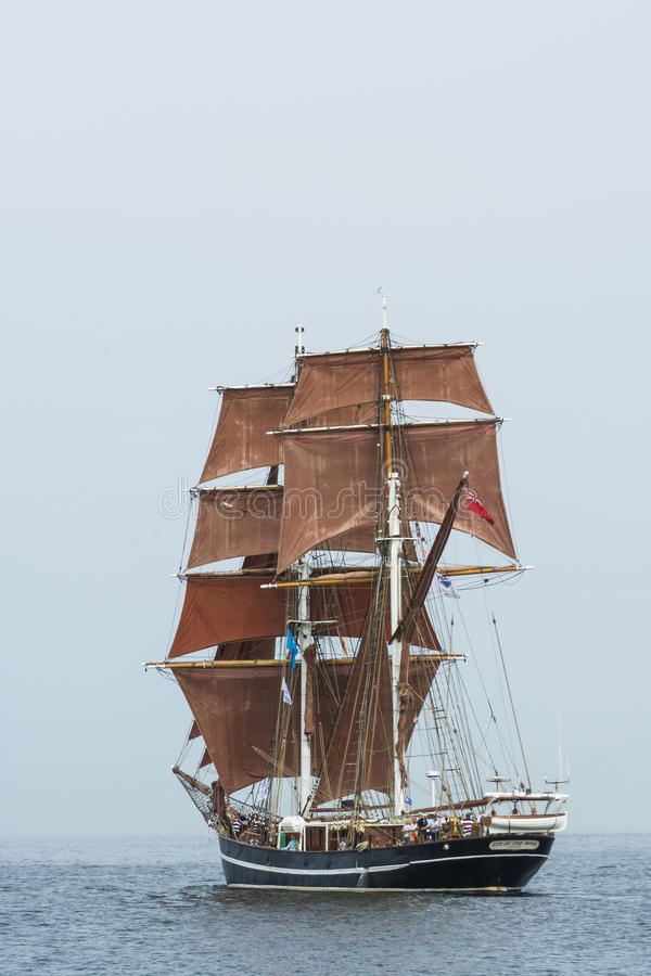 Brig Eye of the Wind royalty free stock photography