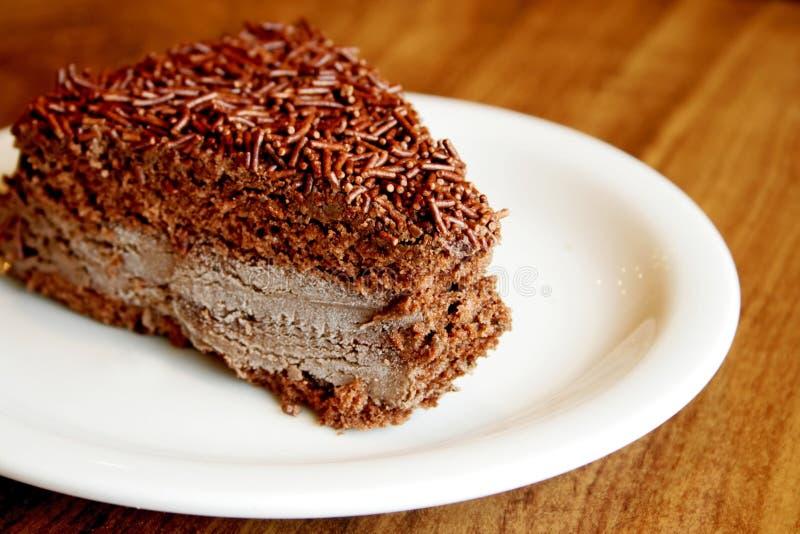 Brig van cake royalty-vrije stock foto
