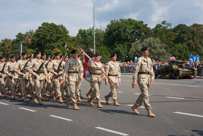 Brigada da cavalaria blindada fotografia de stock royalty free