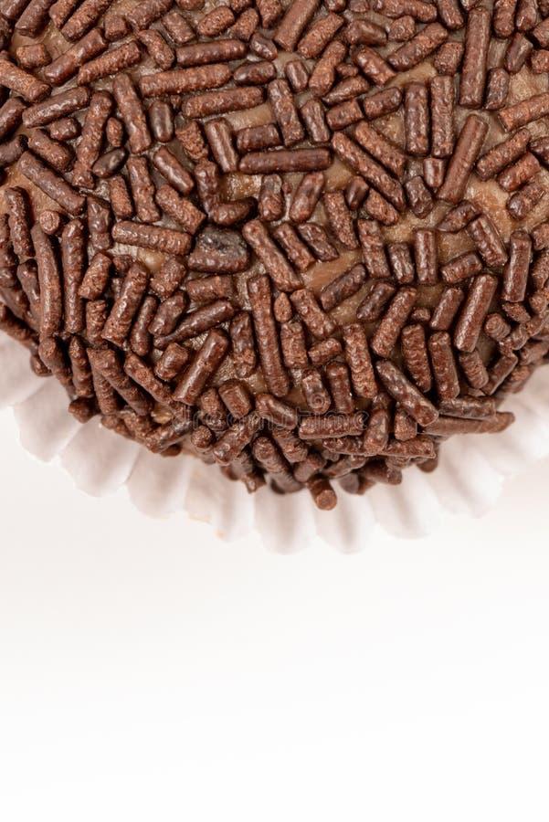 Brigadeiro. Brazilian famous chocolate candy stock images