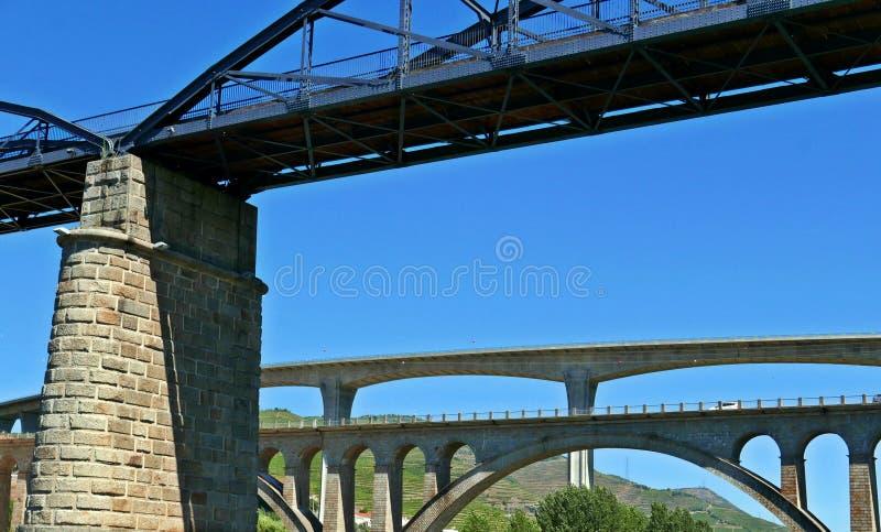 Briges de rivière de Douro photo stock