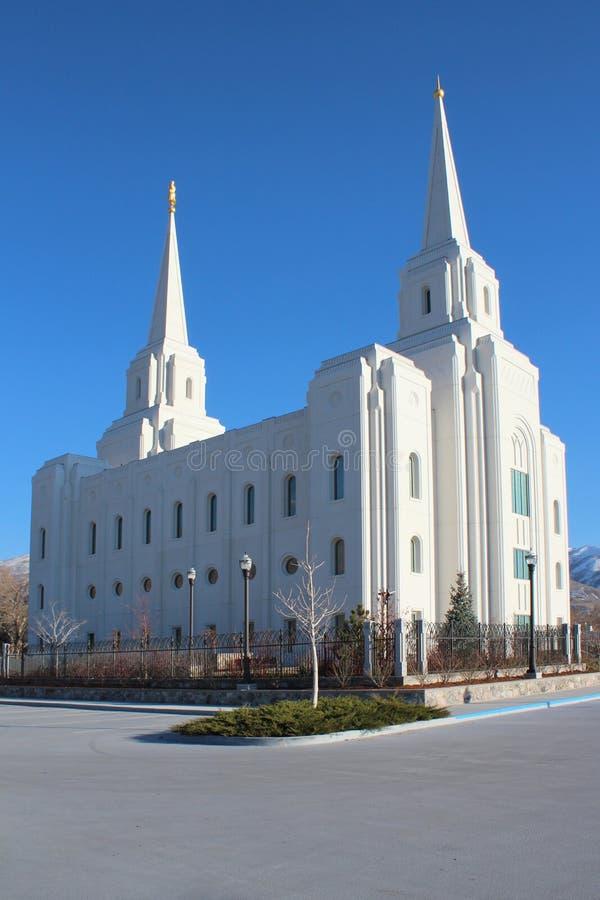 Brigham City, Utah fotografia stock libera da diritti