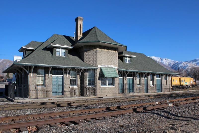 Brigham City, Utah lizenzfreie stockbilder