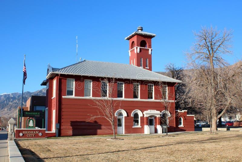 Brigham miasto, Utah obraz stock