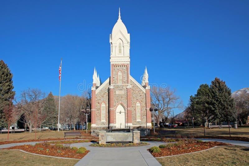 Brigham miasto, Utah zdjęcia stock