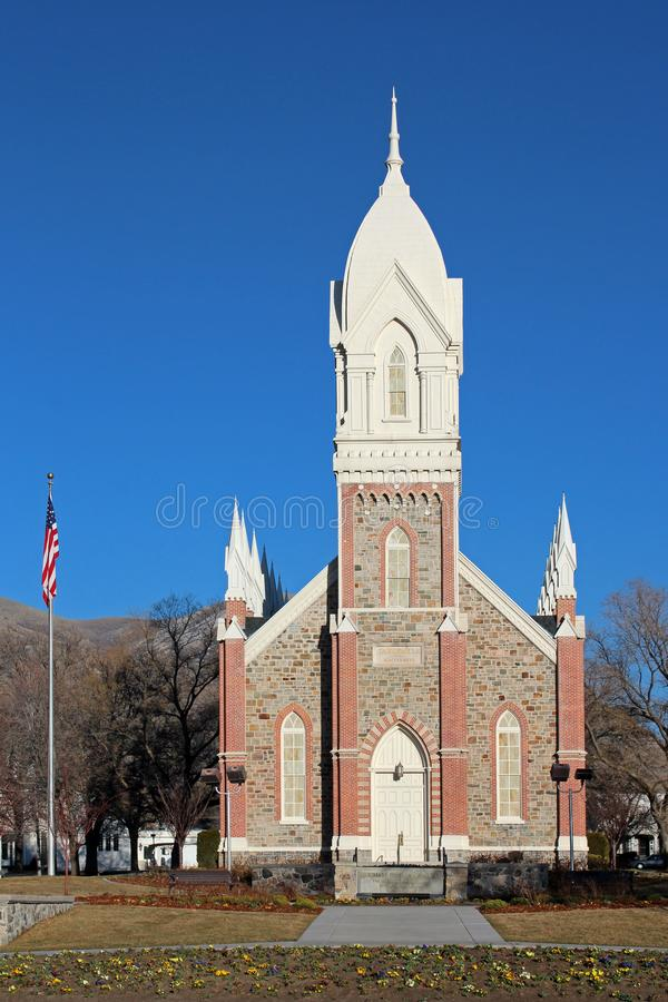 Brigham miasto, Utah fotografia royalty free