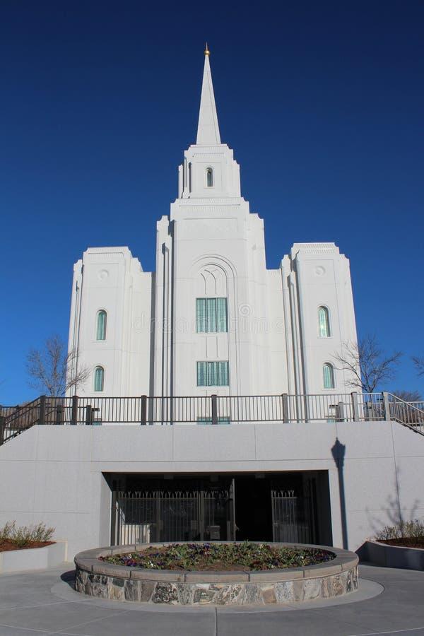 Brigham miasto, Utah zdjęcie stock