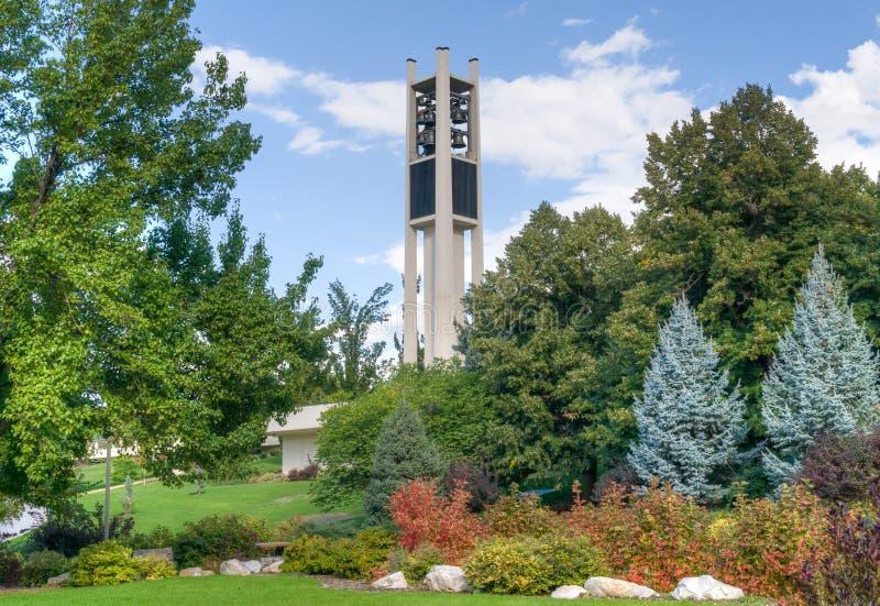 Brigham Young University Centennial Carillon torn arkivfoto