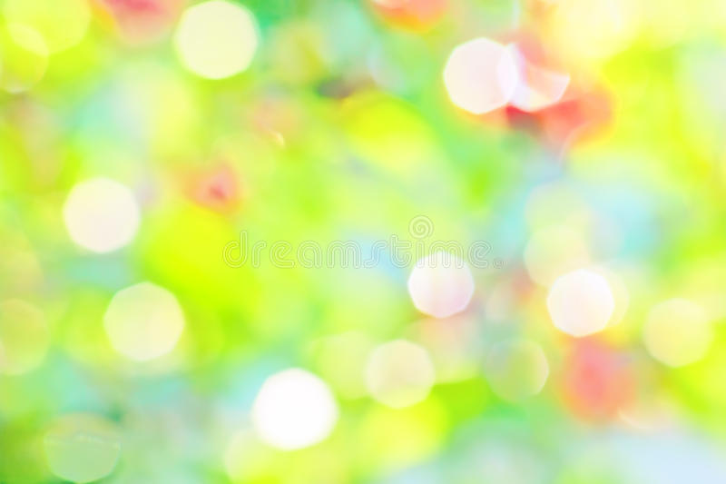 Bright abstract background of a summer garden. Bright abstract background of green summer garden with patches of sunlight stock photography