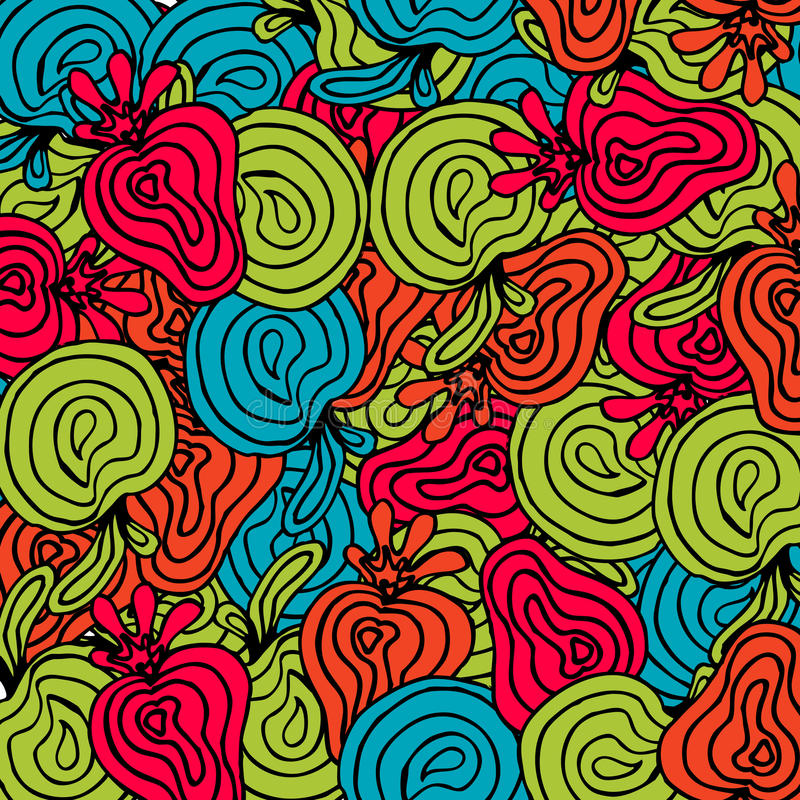 Free Bright Abstract Fruits Pattern Royalty Free Stock Image - 29015786
