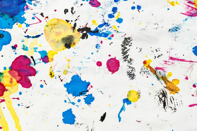 Bright abstract paint background stock images