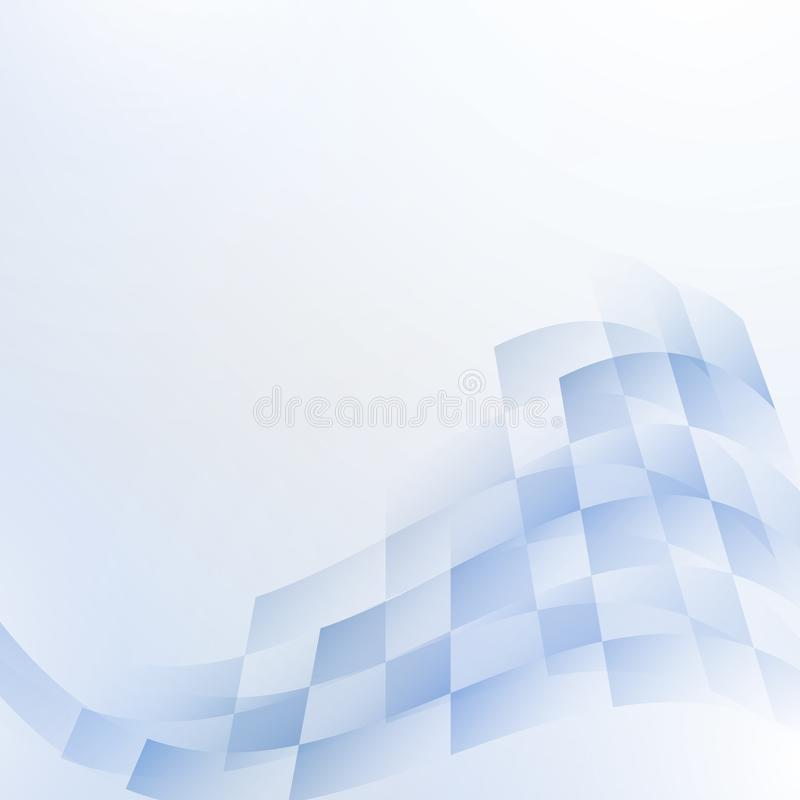 Bright abstract technology background royalty free illustration