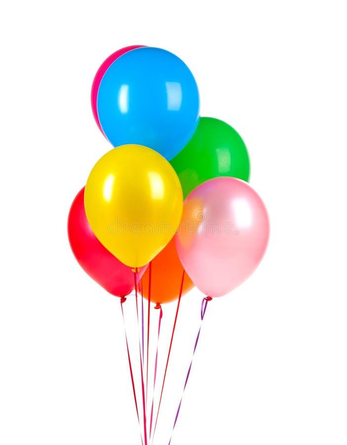 Bright balloons royalty free stock image