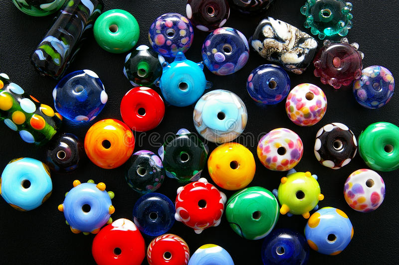Download Bright beads stock image. Image of colors, sixties, artistic - 18222047