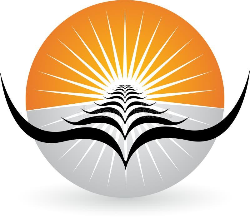 Download Bright birds logo stock vector. Illustration of emblem - 34833393