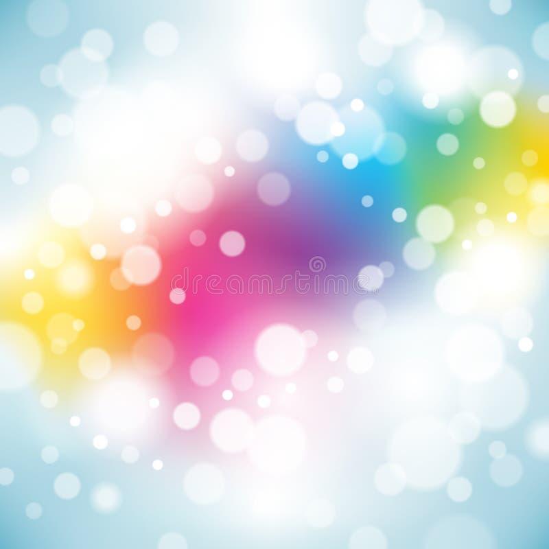 Bright Birthday Background royalty free illustration