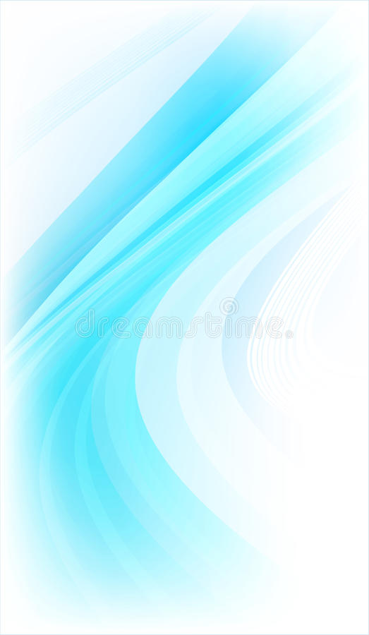 Bright blue abstract background.