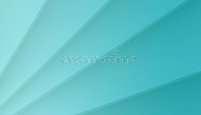 Bright blue contoured angled lines abstract wallpaper illustration stock illustration