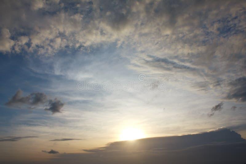 Download Bright Blue Sky And Sun Shine Landscape Stock Photo - Image: 26144080