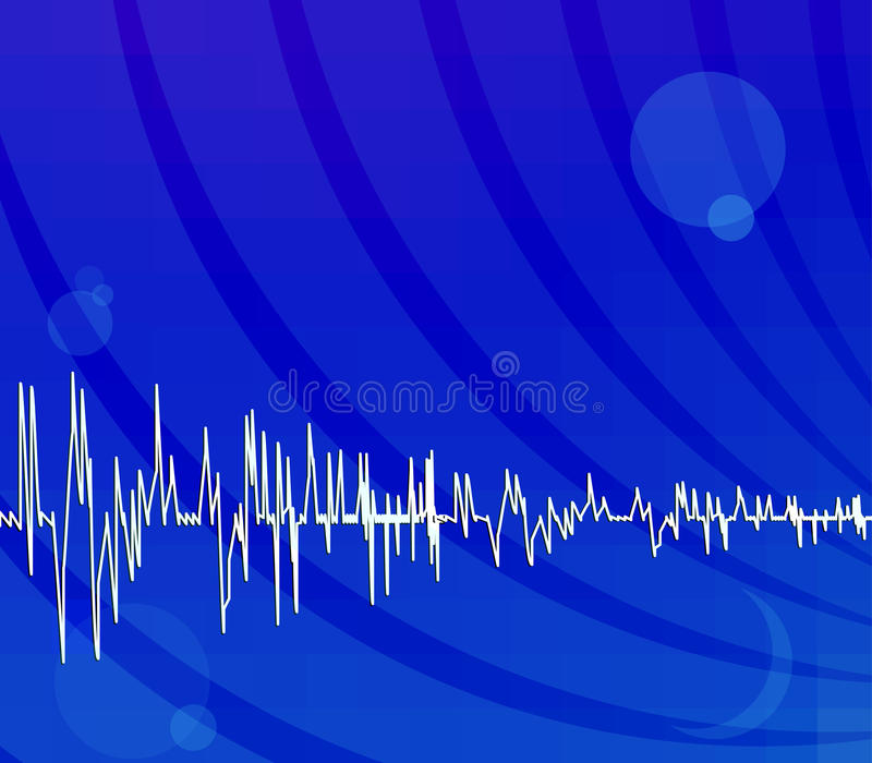 Download Bright Blue Techno Background Stock Vector - Image: 12972865