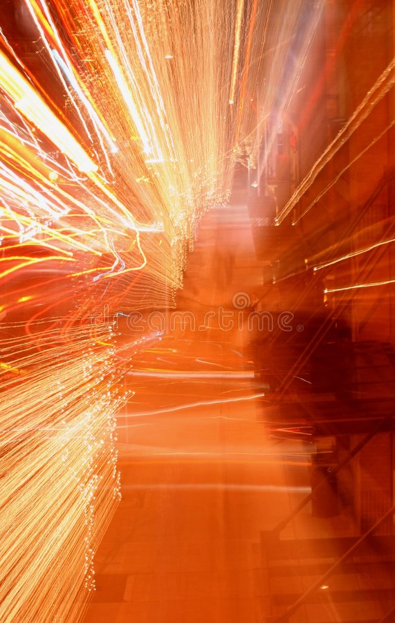 Download Bright Blur stock image. Image of movement, inward, dark - 519971