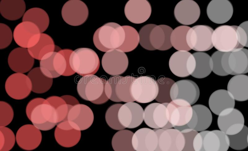 Bokeh on black background. Festive atmosphere. Decoration of new Year and Christmas holidays. Highlights on a black background. Bright bokeh on a black stock images