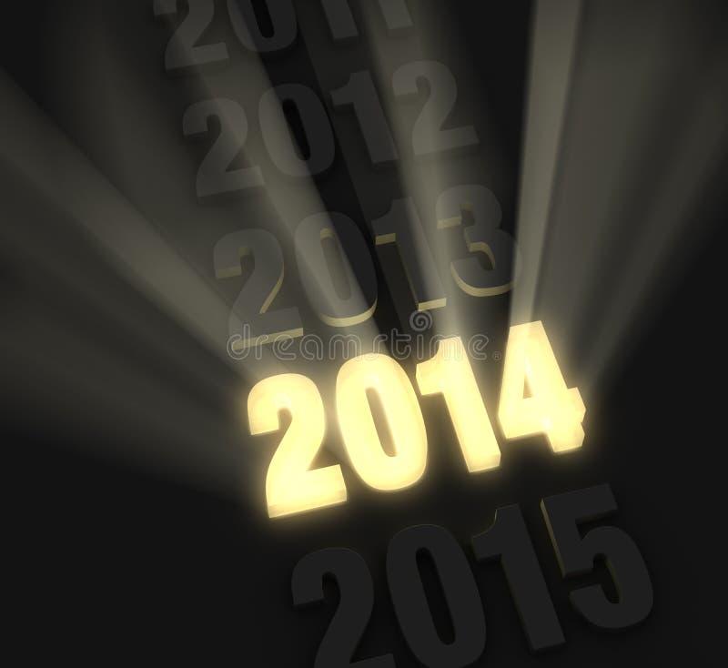Download Bright, Bold 2014 stock illustration. Illustration of gold - 35130059