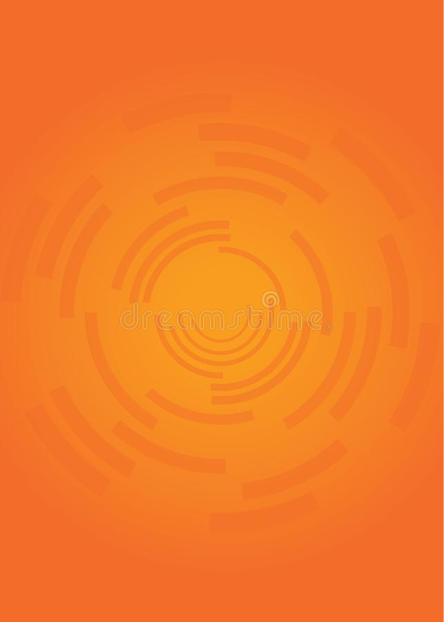 Bright and Bold Orange Background Texture royalty free stock photography