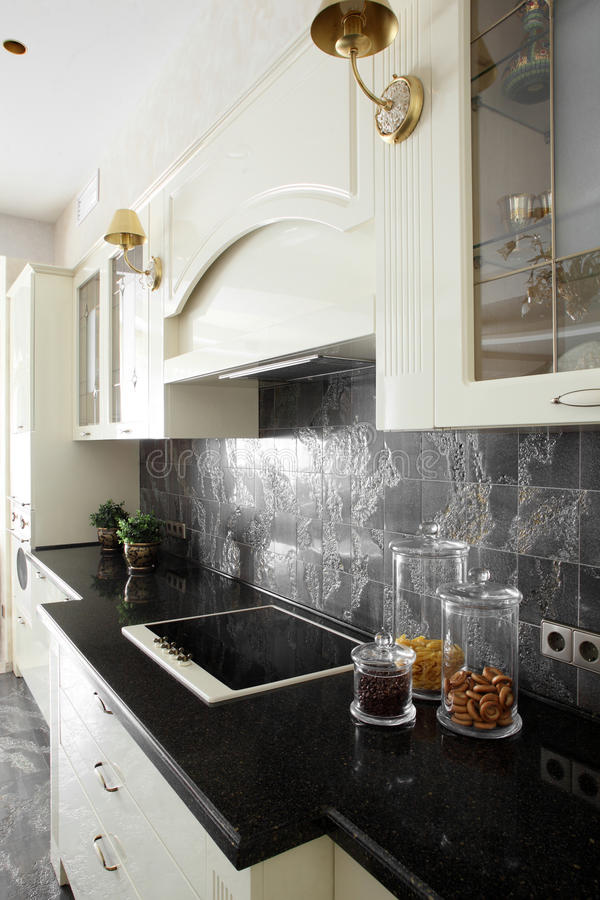 Download Bright Brand New European Kitchen Stock Photo - Image: 26878220