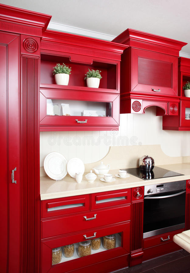 Download Bright Brand New European Kitchen Stock Image - Image: 26878275