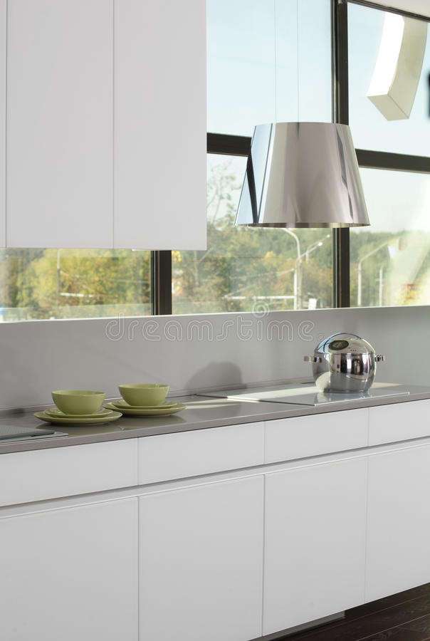 Download Bright Brand New European Kitchen Stock Image - Image: 26878283