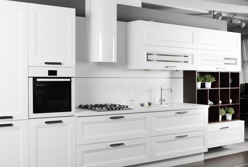 Download Bright Brand New European Kitchen Stock Photo   Image Of Indoors,  Kitchen: 34488600