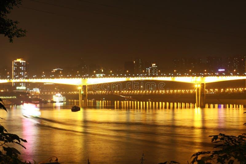 Bright bridge royalty free stock photo
