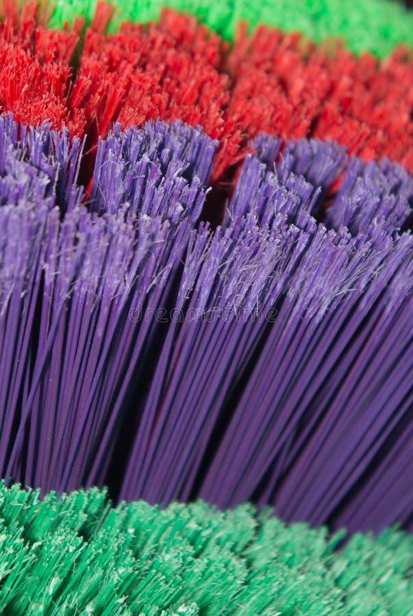 Download Bright Broom Bristles stock image. Image of fibers, colorful - 42402299