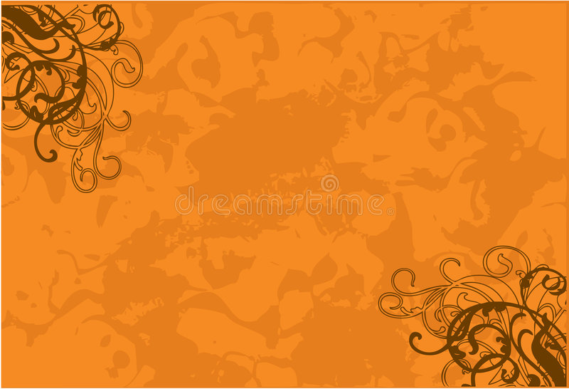 Download Bright brown feeling stock vector. Image of orange, plant - 2115112