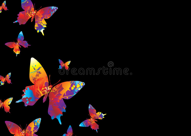 Download Bright butterfly stock vector. Illustration of abstract - 6590491