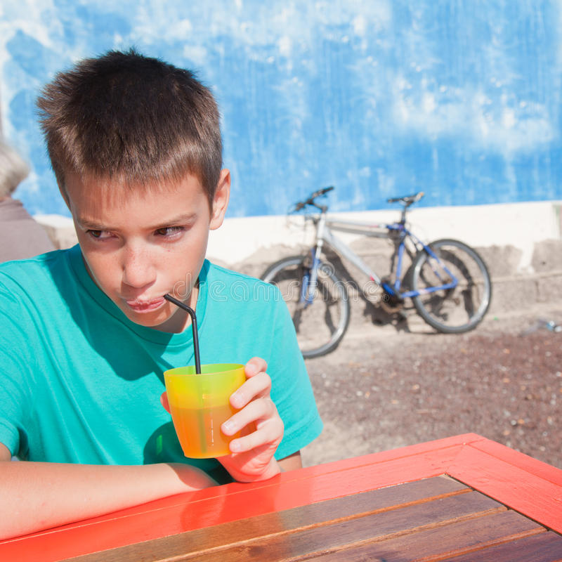 Download Bright cafe stock image. Image of freckly, table, teen - 22624955
