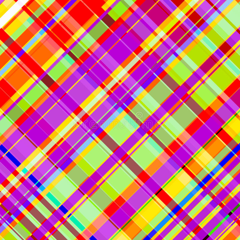 Bright check pattern royalty free illustration
