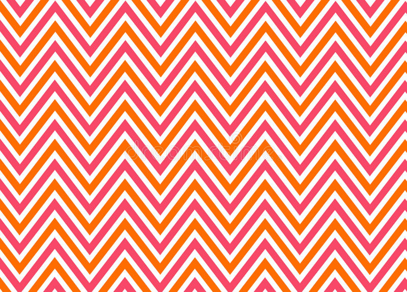 Download Bright Chevron Red, Orange And White Pattern Stock Vector - Image: 22237162