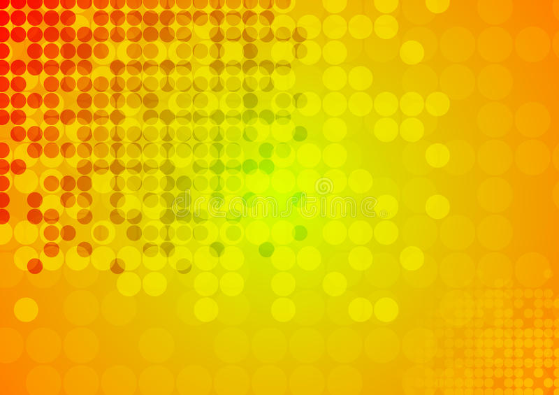 Bright circles abstract technical background royalty free illustration
