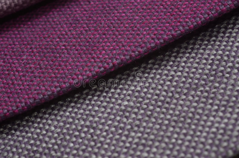 Download Bright Collection Of Colorful Gunny Textile Samples. Fabric Texture Background Stock Photo - Image: 83714598