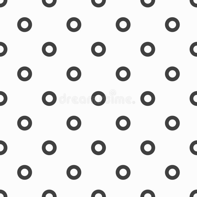 Bright colored circles seamless geometric pattern for your design vector illustration