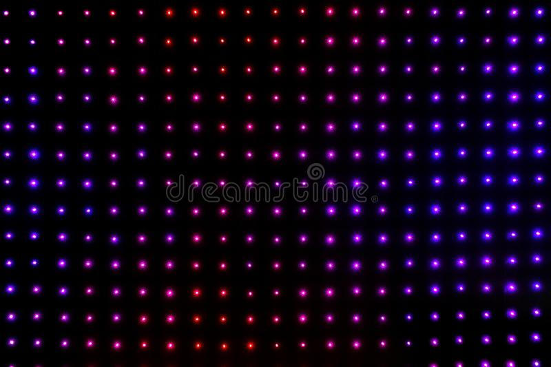 Bright colored LED smd screen - close up abstract background.  vector illustration